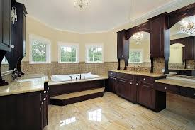 ensuite bathroom master ideas luxury en large custom bathroom with bay windows and extensive custom dark wood