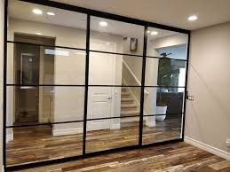 glass doors room dividers