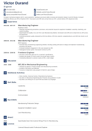 Professional Engineer Resume Samples 12 Engineering Resume Examples Template Guide Skills