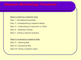 Conceptualizing A Research Design Project Research Methodology Ppt Download