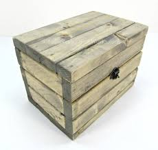 recipe box gray stain front