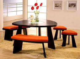 dining table set with lazy susan. furniturecool triangular dining table set lazy susan cool triangle bench with