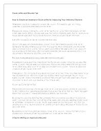 How To Do Cover Letter How To Do A Cover Letter For A Resume ...