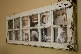 Ideas For Old Windows Old Window Turned Picture Frame Interior Design Ideas
