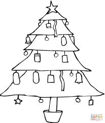Kerstboom Kleurplaat Gratis Kleurplaten Printen