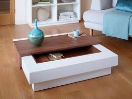 modern furniture coffee table. contemporary coffee table with storage in matt stone or white modern furniture h