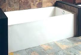60 x 30 bathtub x bathtub x bathtub x bathtub white three wall alcove soaking tub 60 x 30 bathtub