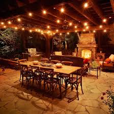 hanging outdoor lights patio how to decorate your with in for idea 17