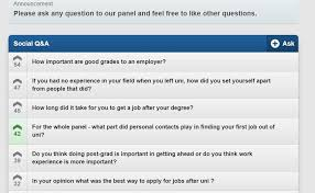 Questions To Ask On Work Experience Top Career Questions Asked By Students Careers And Employment