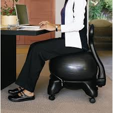 ergonomic ball office chairs. Simple Office Gaiam Balance Ball Chair With DVD ZKOCKT6002CF  Charcoal  Stability  Balls Best Buy Canada In Ergonomic Office Chairs