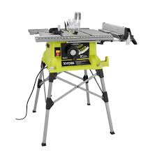 portable table saw table. portable table saw with quick stand-rts21g - the home depot a