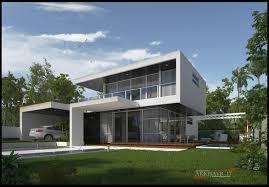 simple modern house. Modern Houses Simple House Plan F