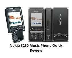 Nokia 3250 Music Phone Quick Review ...