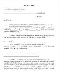 Free Basic Rental Agreement Contract Home Lease Residential Simple