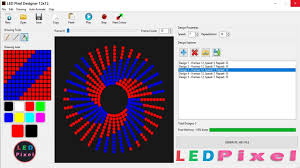 Rgb Pixel Led Ws2812 Shadow Designer Software Download Led Pixel Designer 12x12 Youtube