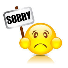 Sorry Smiley Illustration Royalty Free Cliparts Vectors And Stock Amazing Sorry