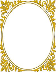 border frame fancy. Oval Gold Frame Pageframesmoreframesovalframes Border Fancy