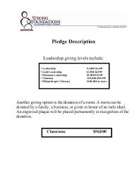 Donation Pledge Form - Hildreth Meière