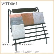 Glass Stands For Display Flooring Metal Steel Frame Racks Stone Tiles Waterfall Stands 97