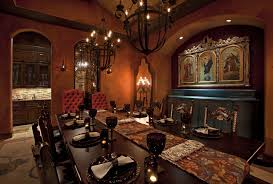 rustic spanish style furniture. Rustic Dining Room With Spanish Style Furniture Dashing