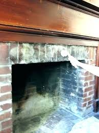clean fireplace bricks how to brick cleaning fireplaces around for painting br fireplace soot remover cleaning brick