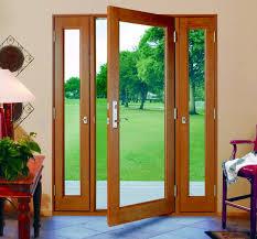 Home Single Patio Door With Sidelights Fine Regarding Home Single