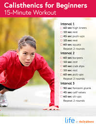 the 2 minute calisthenics workout you