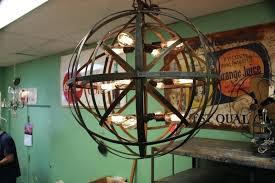 full size of metal sphere crystal chandelier diy uk industrial strap hanging lantern globe the lighting