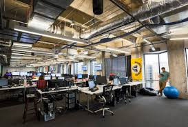 creative office space. Open Floor Plans And Low-walled Workstations Are The New Trend In Creative Office Space. Space
