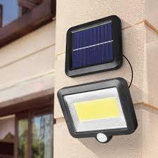 <b>BRELONG BR-0118 Solar Infrared</b> Motion Sensor Floodlight COB ...