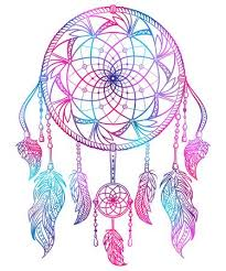 Colored Dream Catchers Delectable Colorful Dream Catcher With Ornament And Feathers Design Concept