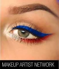 4th of july inspired 20 patriotic eye makeup ideas step by step that you have to see to believe