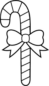 Small Picture stunning line drawings of christmas candy canes with candy cane