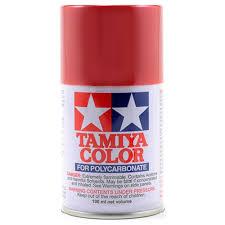 Tamiya Ps 15 Metallic Red Lexan Spray Paint 3oz
