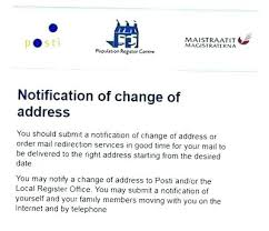 Change Of Address Who To Notify Change Of Address Postal Office Online Visitliege Info