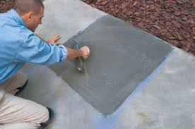 outdoor tile over concrete. Trowel Outdoor Tile Over Concrete N