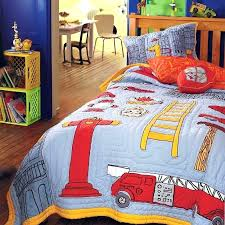 fire truck bedding twin explore boy cotton and more size engine set fire truck bedding