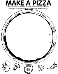 Small Picture Make A Pizza Coloring Page crayolacom