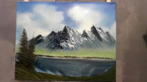 Easy Things To Paint Very Easy Oil Painting Lesson For Beginners Wet On Wet Youtube