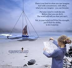 Pravs World Good Morning Quotes Best of In Belief Lies Strength Pravs World