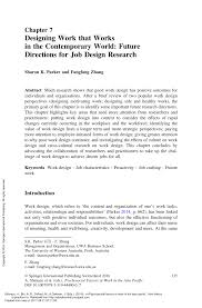 Design Research Meaning Pdf Designing Work That Works In The Contemporary World