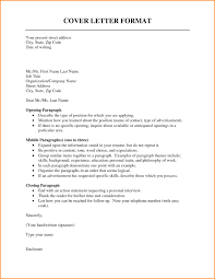 Cover Letter Set Up Cover Letter Setup Format Examples 24 Basic Like Layout Example And 2