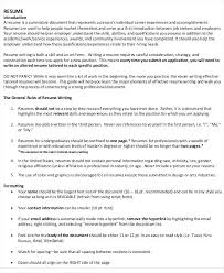 Easy To Read Resume Format It Resume Format Template 7 Free Word