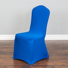 chair covers. Stretch Banquet Chair Cover Royal Blue: Pre-Order Estimated Restock Date  Oct. 31 Chair Covers