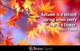 Autumn Quotes - BrainyQuote via Relatably.com