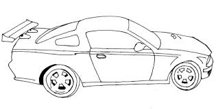 Small Picture Race Car Coloring Page chuckbuttcom