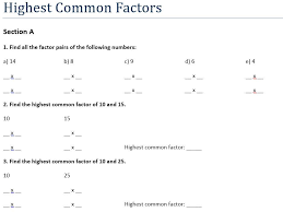 t common multiple and highest common factor hcf lcm
