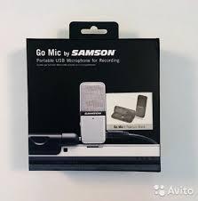 <b>Микрофон</b>. <b>Samson Go Mic</b> купить в Смоленской области на Avito ...