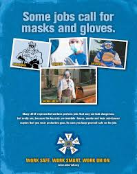 promoting workplace safety iatse studio mechanics local 489 mask and gloves blue jpg
