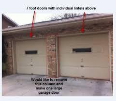 17 foot wide garage door home design